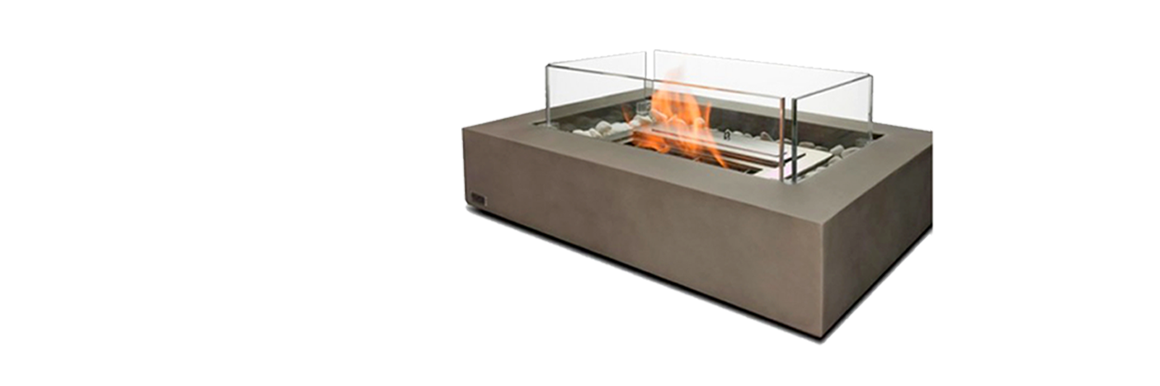 Image of a portable, decorative ethanol burner for domestic or household use.