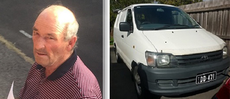 Public warning Donald Cleaning Services. Image of David Donald and his white van.